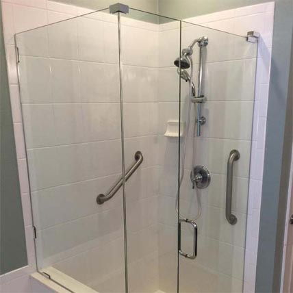 glass shower tub enclosures - Glass Enclosures